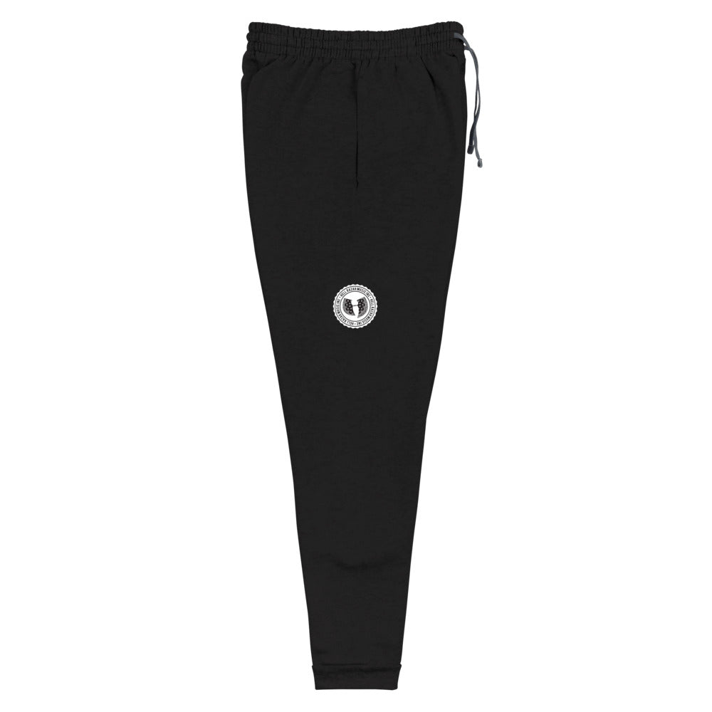 Official HellRazah Music Inc. Tagger Style Designer Unisex Soft Joggers HeavenRazah Merch Graphics by Sly Ski Original