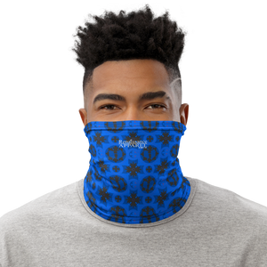 Renaissance Blue Azure Face Covering - Neck Gaiter