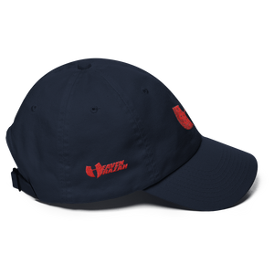 Hell Razah / Heaven Razah Red Bandana Logo Trucker Cap Dad Hat Graphics by Culture Freedom