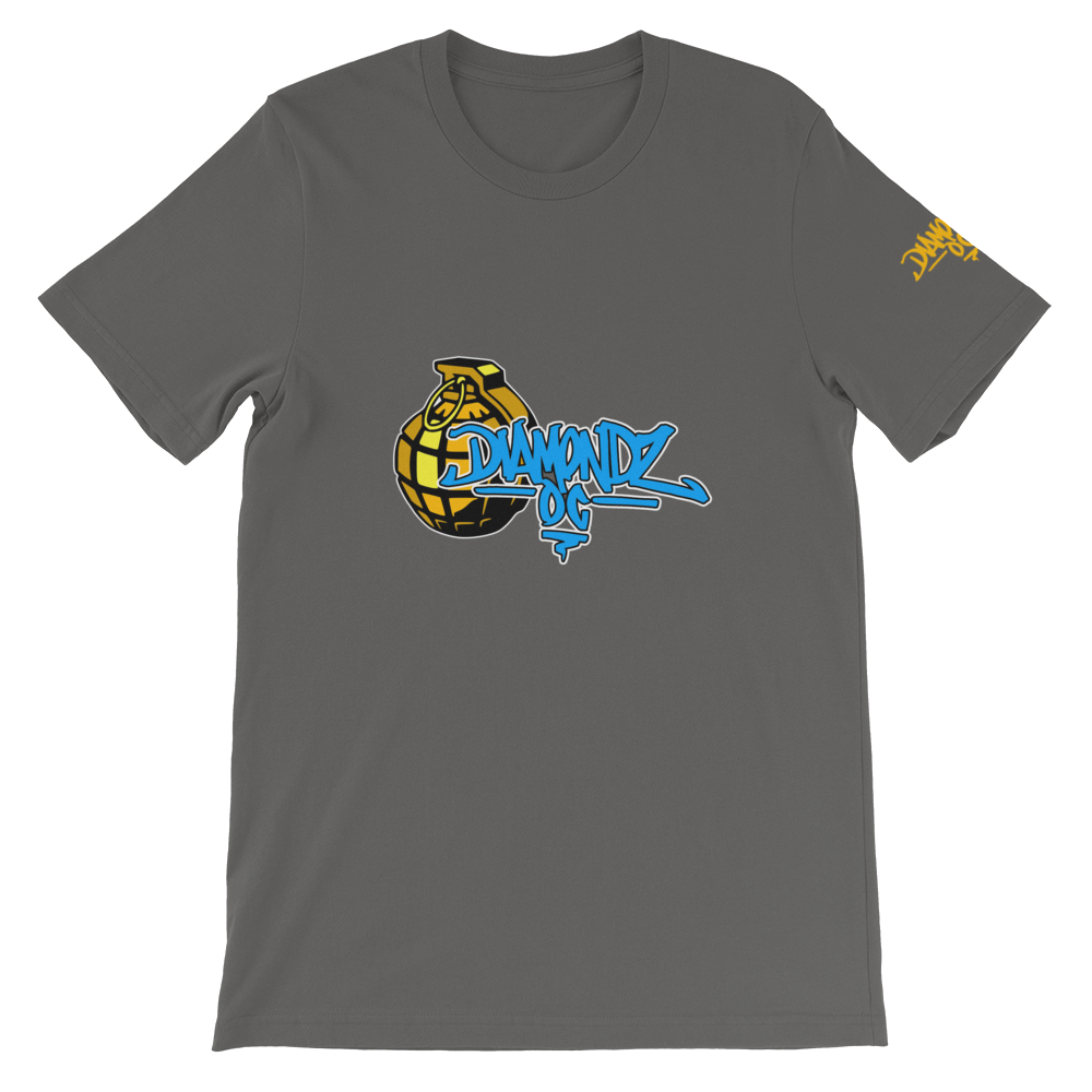 DiamondzOC D.O.C. Urban Grenade Designer Soft Short-Sleeve Unisex T-Shirt Graphics by iHustle365