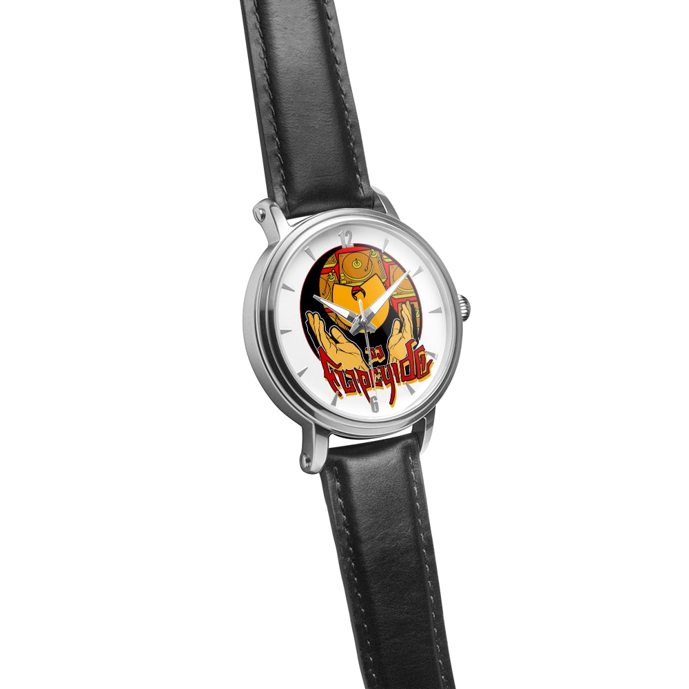 DJ FLIPCYIDE - MIXMASTER ASSASSIN 2 Custom Made Automatic Wrist Watch