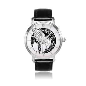 HRMI Hell Razah Music Inc, Logo Watch Multiple iHustle365 Variants Mens Designer Watch HeavenRazah Merch