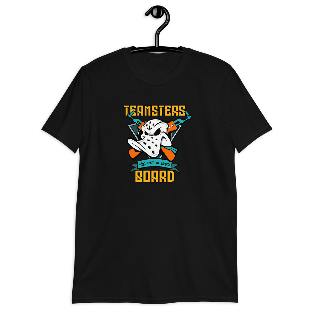 Teamsters Board Code Of Arms Unisex T-Shirt