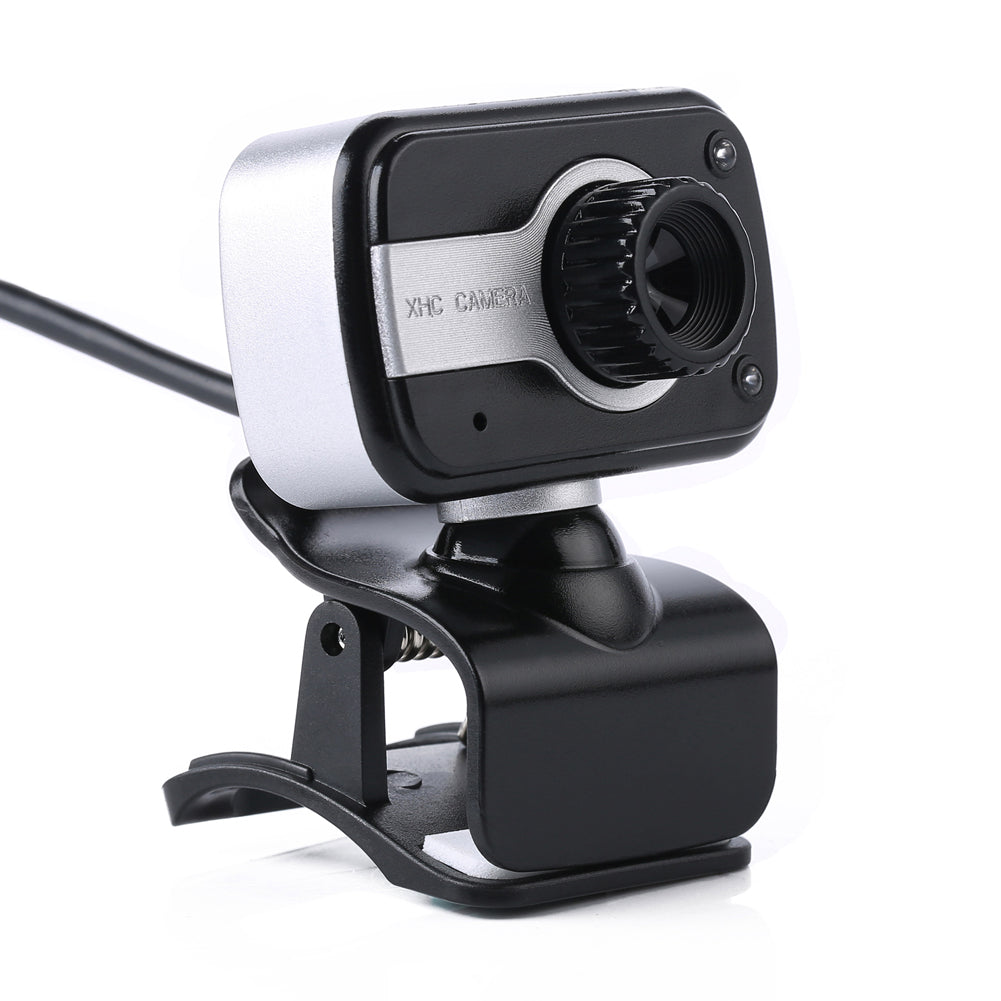 360 Degree Rotation USB Webcam 12M Pixels HD Clip-on Web Cam Camera With Microphone MIC for Computer Laptop PC High Quality