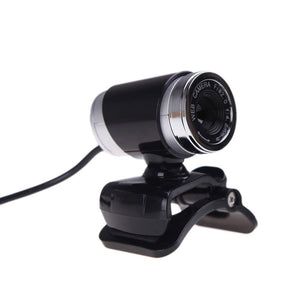 PROMOTION! USB 2.0 12 Megapixel HD Camera Web Cam with MIC Clip on 360 Degree for Desktop Skype Computer PC Laptop Black