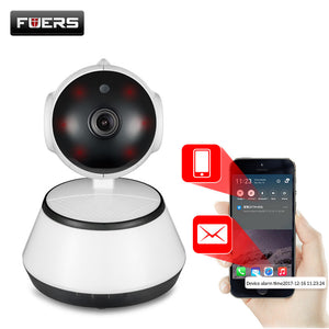 Fuers 720P IP Camera Wi-Fi Wireless Surveillance Camera P2P CCTV Wifi Ip Camera Free APP V380 Home Security Cam Baby Monitor