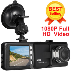 "KKMOON 3"" Car DVR Dash Camera Full HD 1080P Video Recorder Camcorder Motion Detection / Loop Recording Dash Cam"