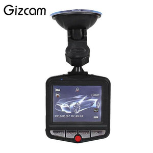 "Gizcam 1 Set Full HD 480P 30fps Video Camera 2.4"" LCD Car DVR Dashcam G-Sensor IR Night Vision Mini Cam Camcorder"