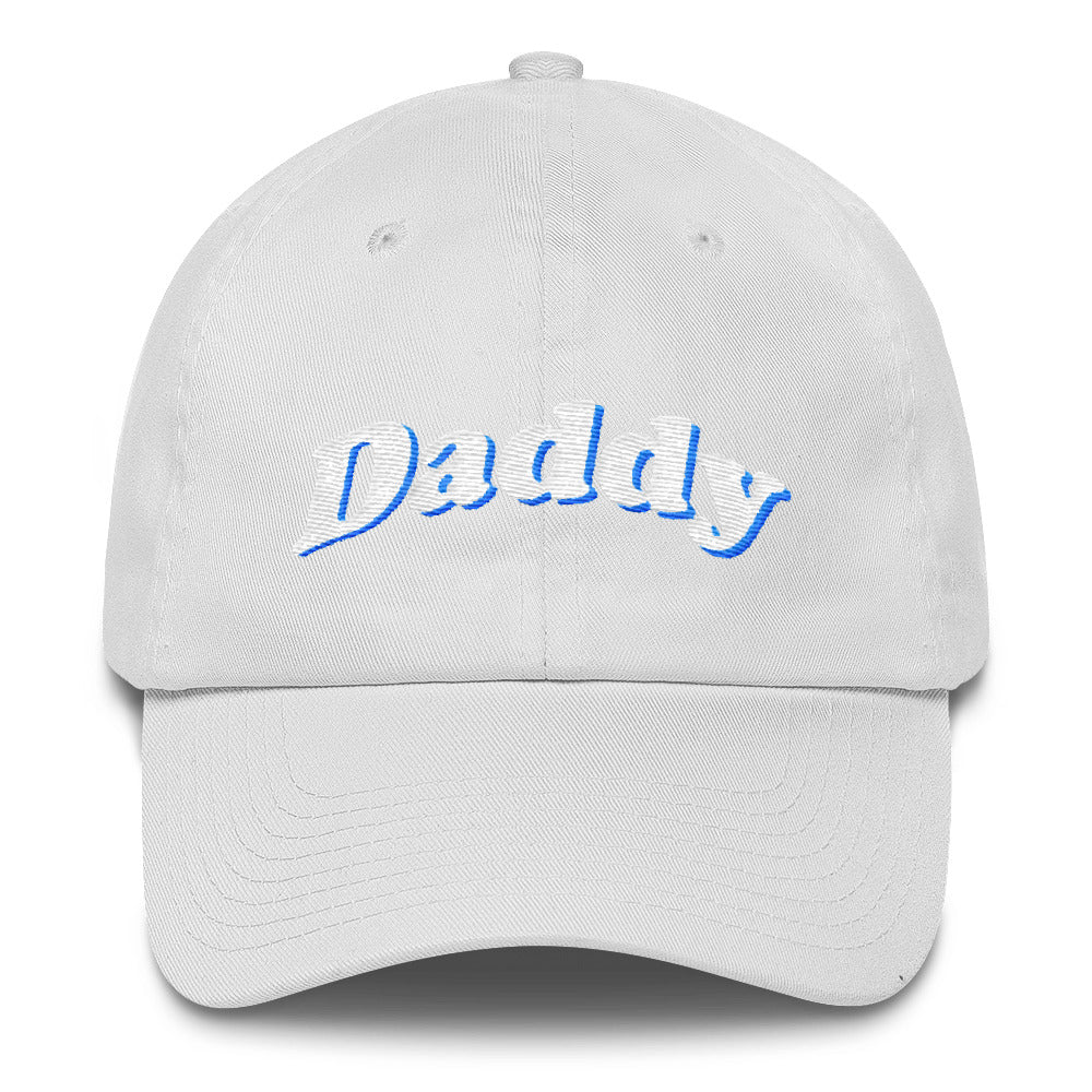 Daddy Bubble Letters Dad Hat Oxy Cotton