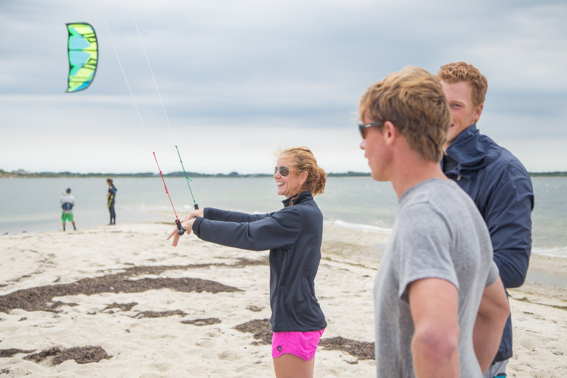FIRST TRACKS KITE CAMP – LEARN TO KITEBOARD ON NANTUCKET