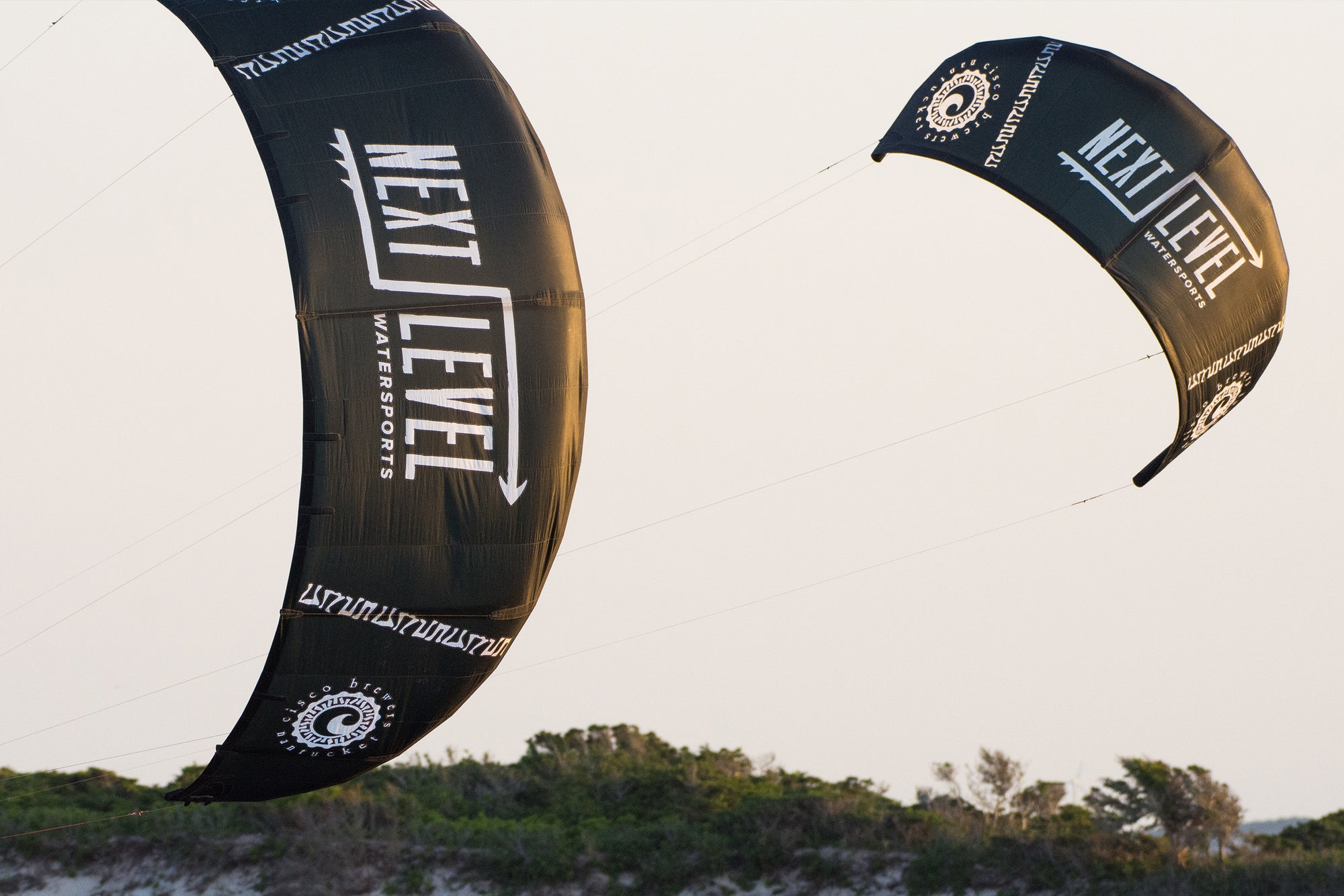 Kiteboarding with Cisco Brewery