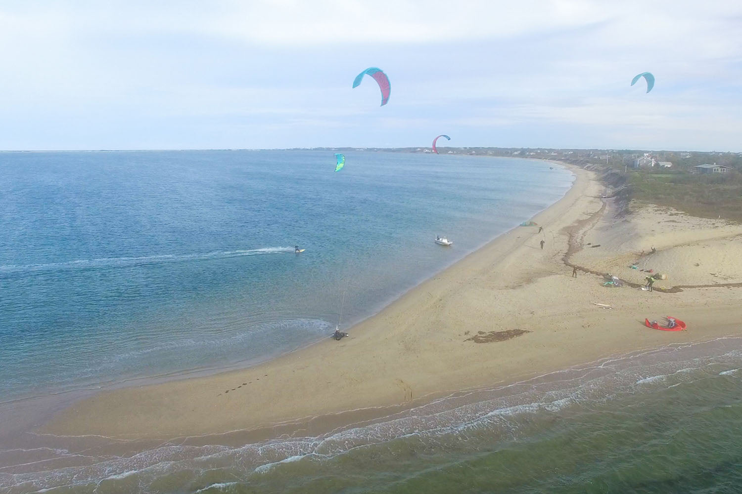 How to Kiteboard Nantucket - Pocomo Point