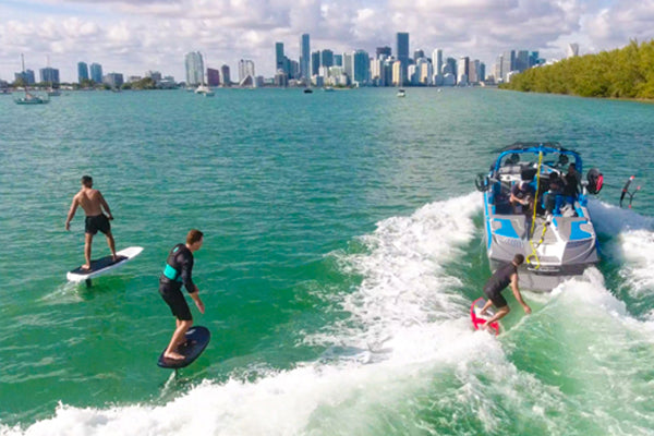 Learn to Hydrofoil or Kiteboard Anywhere: We'll Come to You
