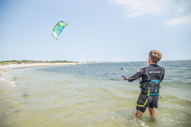 Great Point Properties on Nantucket learning to kiteboard