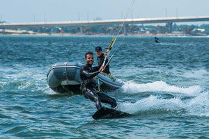 Next Level Watersports premier coaching staff offering the safest kiteboard lessons