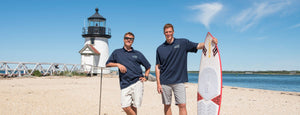 Founders of Next Level Watersports on Nantucket