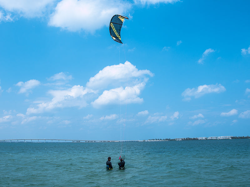 deep water kiteboarding