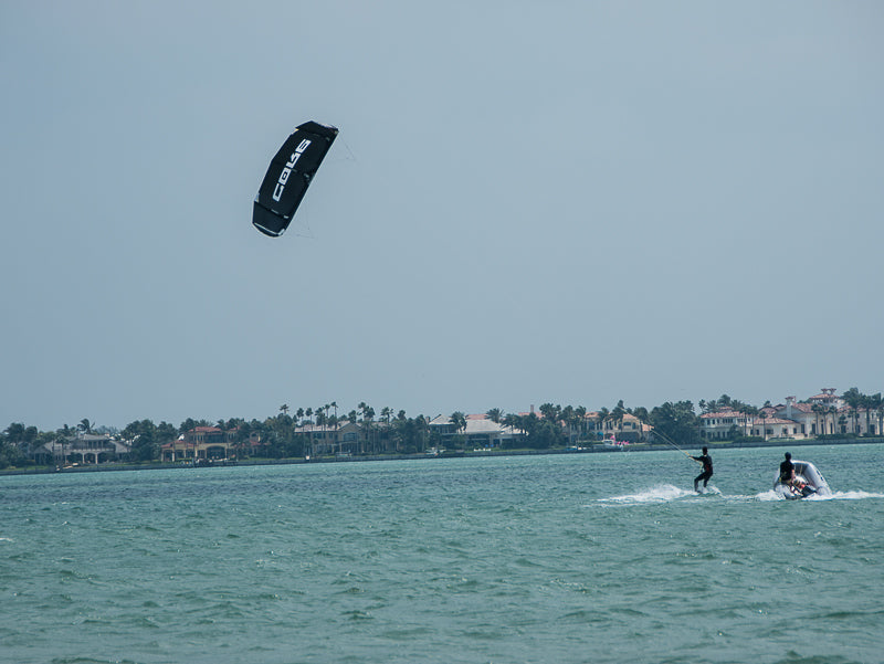 beach kiteboarding