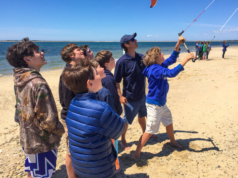 Teaching Kiteboarding