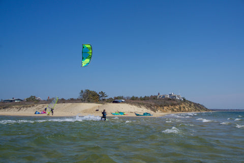 kiteboarding POCOMO POINT