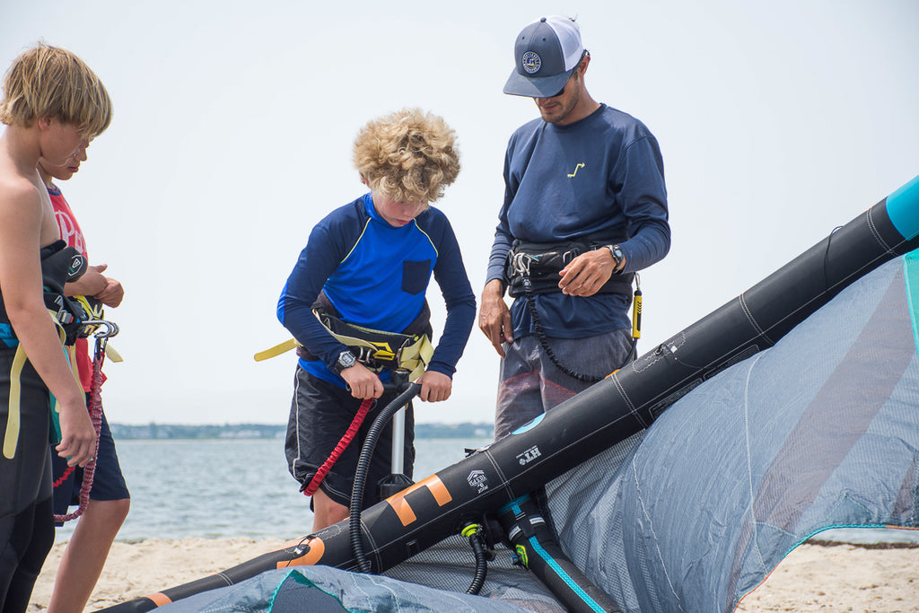 watermens camp for kids on nantucket island ma