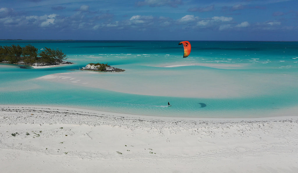back country guide kiteboarding trip with next level watersports kiteboarding trip and tours