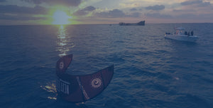 Cisco brewers kiteboarding adventure in the Bahamas at sunset