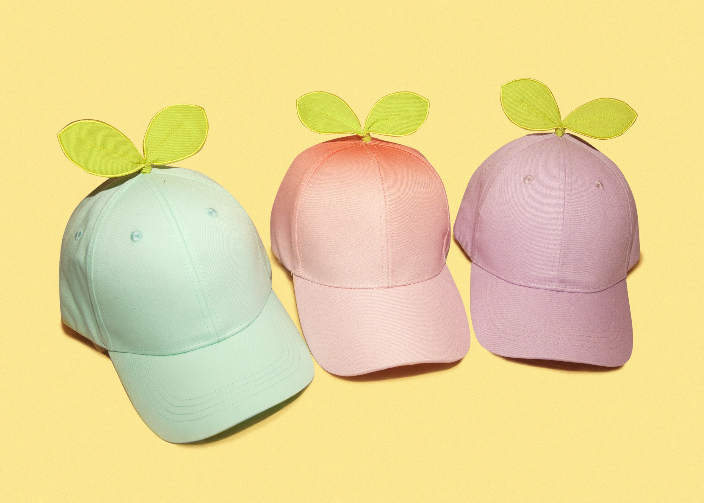 Sprout Baseball Caps