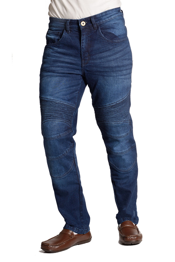 Estrada Aramid Reinforced Motorcycle Jeans - EVOQE