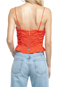ASTR Riley Ruched Top ON SALE