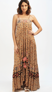 Leopard Maxi with Tassel Tie ON SALE