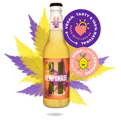 Hemponade Hanflimonade Limonade with hemp