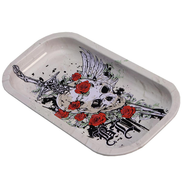 BL-Skull-roses_Rolling-Tray-small-deutschland-luxembourg-france-belgium_mixing_trays_blackleaf