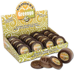 Greengo Grinder Brown / Transparent 50mm Recycled Plastic Eco