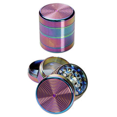 Alu Grinder Rainbow / oilcoloured 4 Part 40mm / Mühle / Broyeur