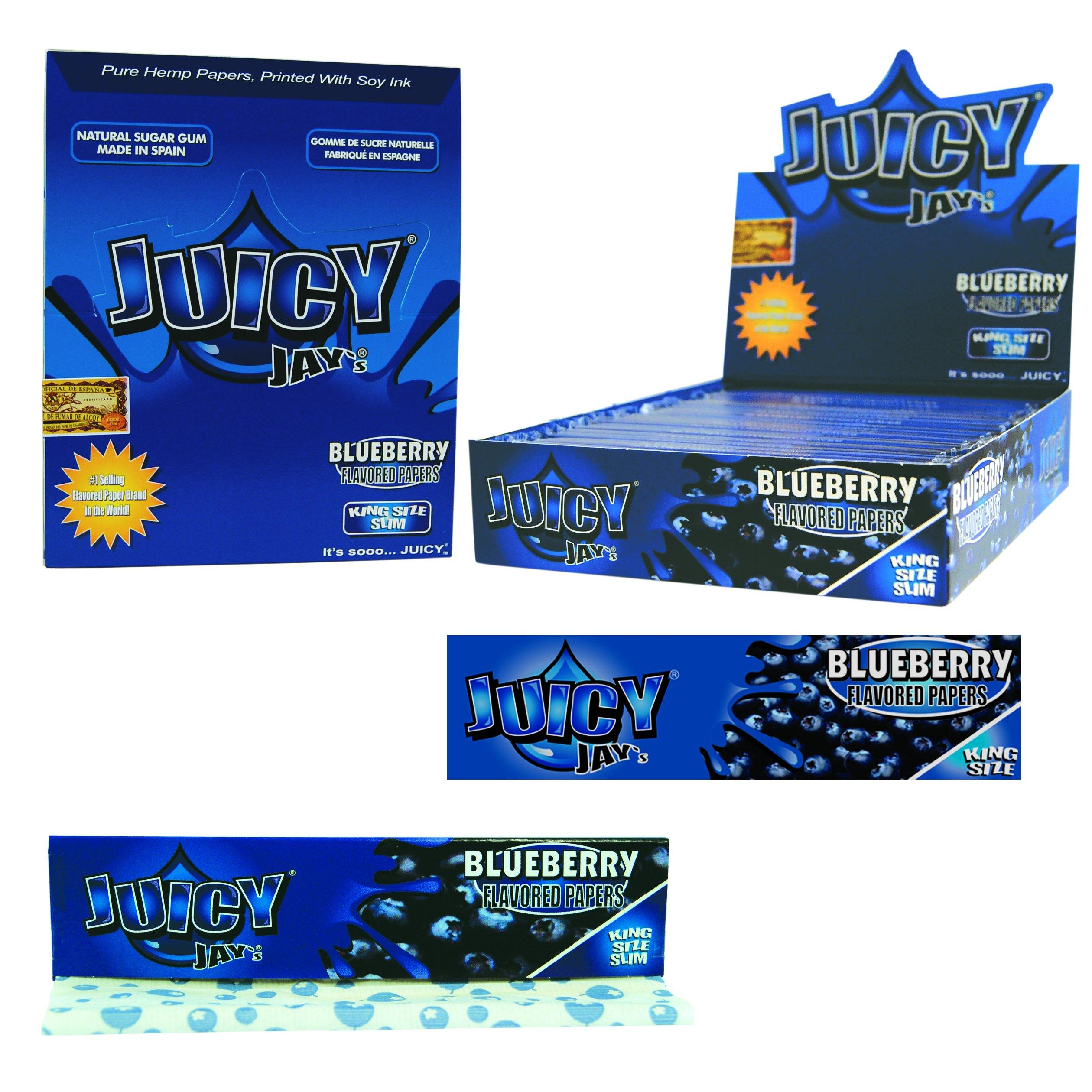 Juicy_Jays_Flavor_Flavour_King_Size_Rolling_Papers_Stoner_KS-Paper_Papier_Luxembourg_cbd-lux_CBD-Store-Shop_Blueberry_blaubeere_myrtille