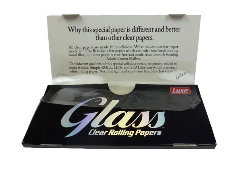 Luxe_Glass_Transparent_Leaves_King_Size_papers_vegan_naturally_clear