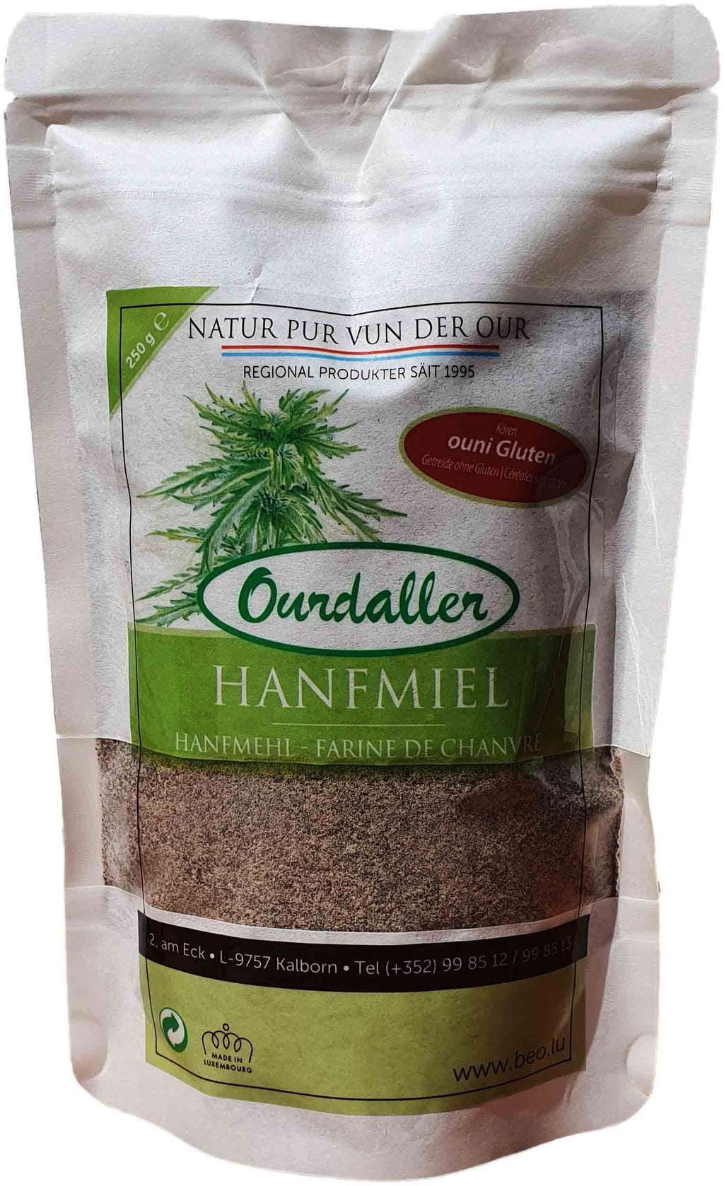 Ourdaller_Cannad'Our_Hanf-Mehl_hanfmiel_farine-de-chanvre_Luxembourg_Organic