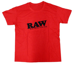 Raw T-Shirt - The Natural Way To Roll Shirt Rawlife Logo