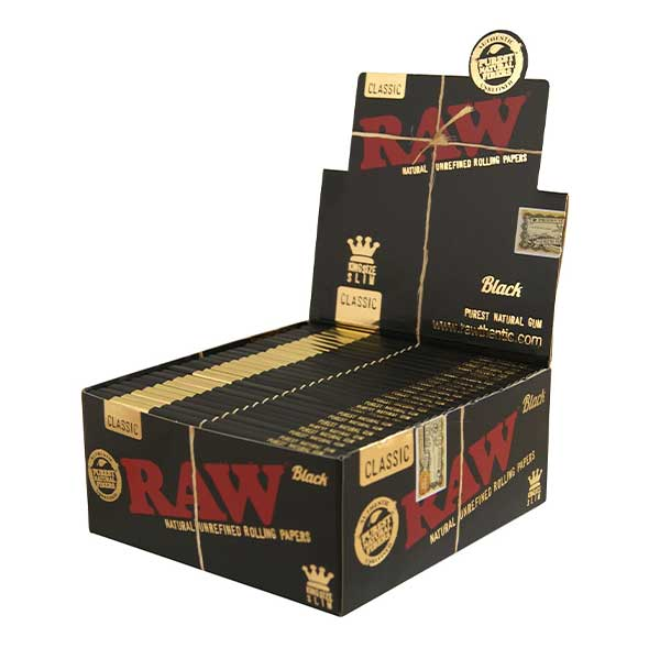 Raw_Black_papers_Classic_Kingsize_Slim_thin_luxembourg_Pure_CBD-Lux