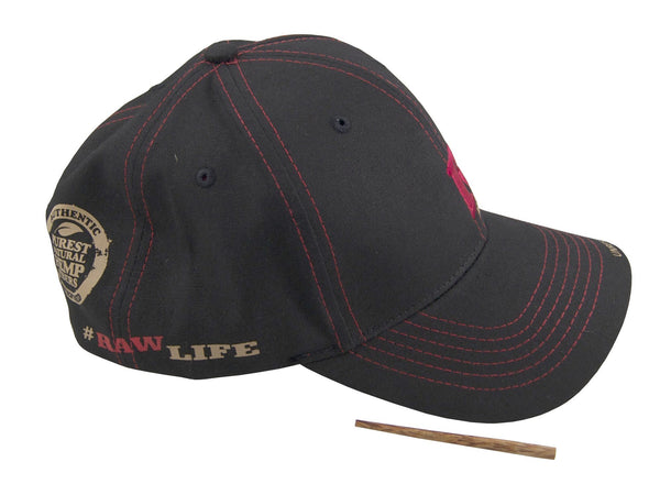 Raw Poker Hat_Cap_Kappe_Flex _rawlife_Luxembourg_luxemburg_cbd_Clothing_Wear_poker_stick_Black