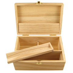 Wood Stashbox Jointbox Stoner Box - Rolling Supreme G2