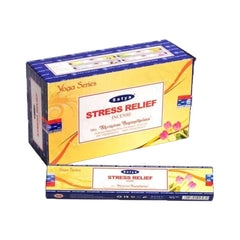 Räucherstäbchen Stress Relief Incense Satya Yoga Series