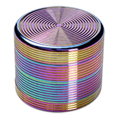 Alu Grinder Rainbow / oilcoloured 4 Part 55mm / Mühle / Broyeur