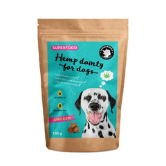 Hemp dainty for dogs - chicken flavor treats | Leckerli - Superfood
