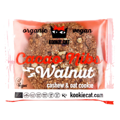 Kookie Cat Walnut Cacao Nibs | Walnuss Kakaonibs Keks