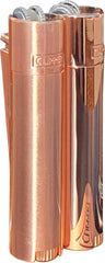 metal_Clipper_Stahlfeuerzeuge_Lighter_briquet_rose_luxembourg_gold_copper_shiny_Matt_Kupfer