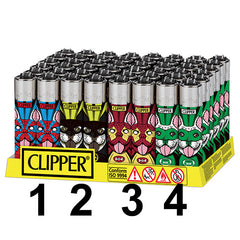 Clipper Feuerzeug Lighter Briquet Superdogs