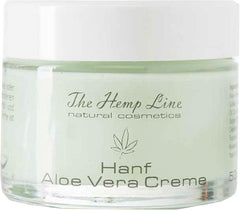 The Hemp Line - Natural Cosmetics - Hemp Aloe Vera Cream | Hanf Aloe Creme
