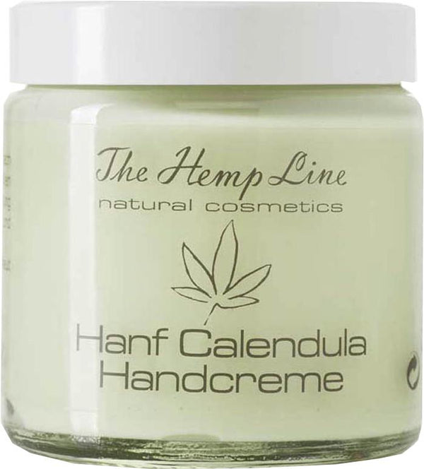 The Hemp Line - Natural Cosmetics - Hemp Calendula Hand Cream | Ringelblume